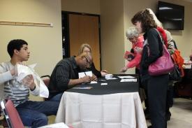 Book Signing at Church